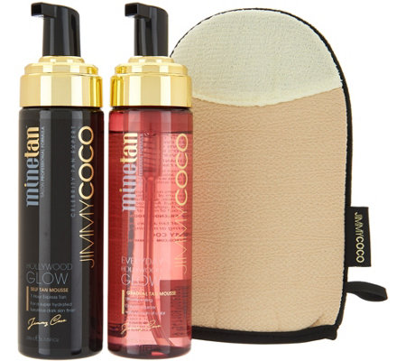 Jimmy Coco Hollywood Glow Kit by MineTan
