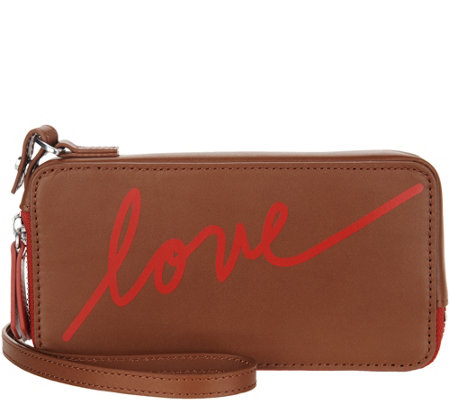 """As Is"" ED Ellen DeGeneres Brea Phone Wallet Case"