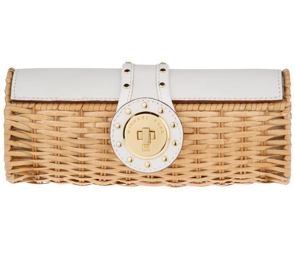 Michael Kors Leather Baskets