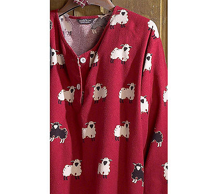 Woolrich Women s Printed Flannel V-Neck Nightshirt. product thumbnail. In  Stock a4f8f61b0