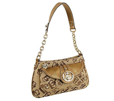 Kathy Van Zeeland Crown Royale Signature Top Zip Shoulder Bag