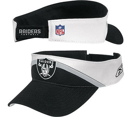 NFL Oakland Raiders Coaching Staff Visor. product thumbnail. In Stock 26a628ba7