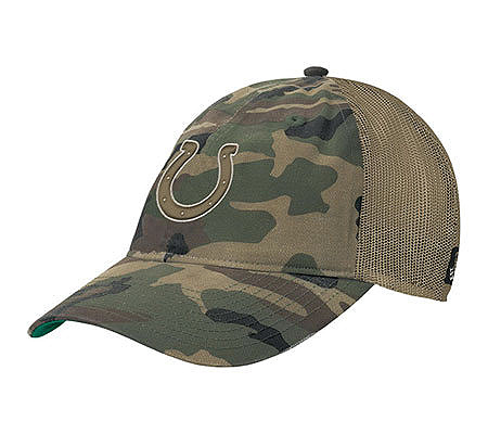 NFL Indianapolis Colts Old Orchard Beach Camouflage Slouch Hat. product  thumbnail. In Stock fed06dbc0e2