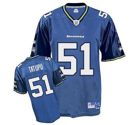 NFL Seattle Seahawks Lofa Tatupu Premier Team Color Jersey. product  thumbnail. In Stock d54caf68d