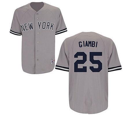 MLB Yankees Replica Jason Giambi Road Jersey. product thumbnail. In Stock 35f3ef70663