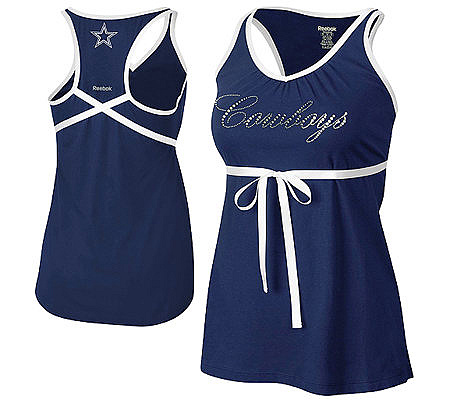 a97c1939d96 NFL Dallas Cowboys Women's Field Flirt Tunic Top. product thumbnail. Share  this Product