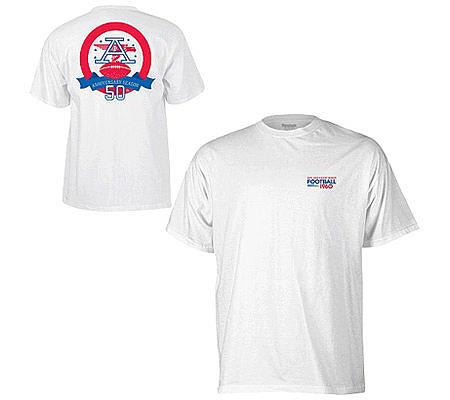 NFL AFL 50th Anniversary Logo T-Shirt — QVC.com 90648534b