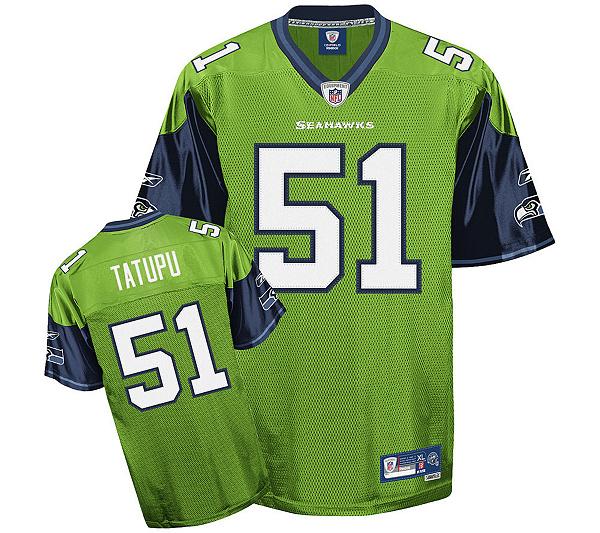 NFL Seahawks Lofa Tatupu Premier Alternate Jersey. product thumbnail. In  Stock 49f438382