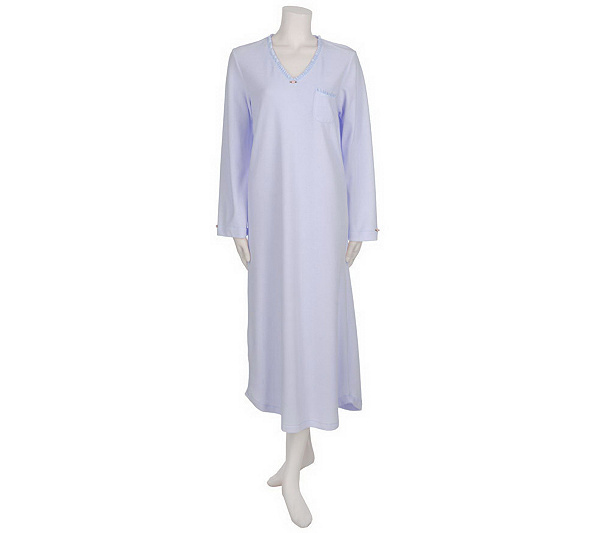 Carole Hochman Velour Long Sleeve Nightgown. product thumbnail. In Stock 67b3d54a7