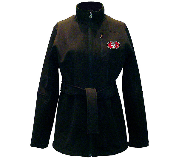 NFL San Francisco 49ers Women s Soft Shell Jacket. product thumbnail. In  Stock 243cd59cf3