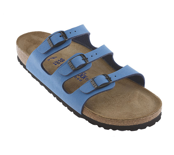 9a00cfe94600 Birkenstock Triple Strap Soft Footbed Adj. Buckle Sandals. product  thumbnail. In Stock