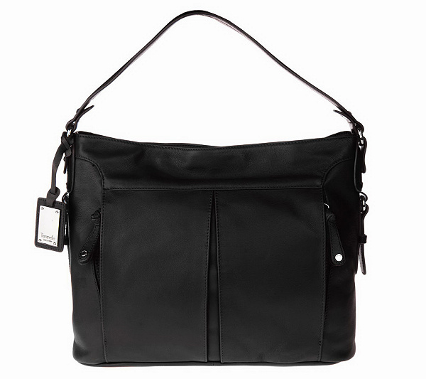 bb29f53a7d Tignanello Glove Leather Hobo Bag with Zipper Pockets. product thumbnail.  In Stock