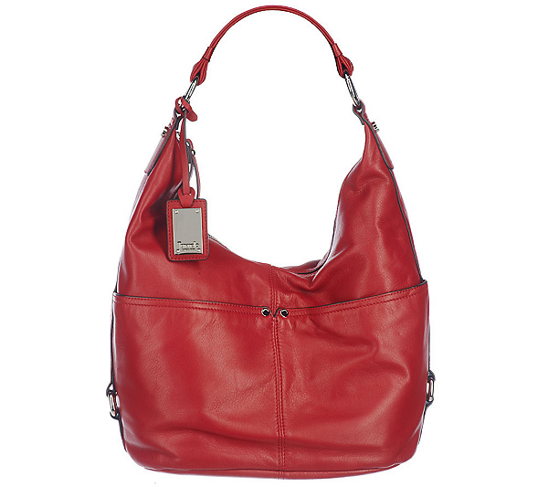 f6ea9a30ae Tignanello Glove Leather Zip Top Pocket Hobo Bag. product thumbnail. In  Stock