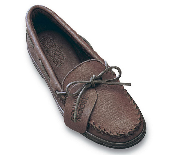 accessories Someday fight  Minnetonka Men's Moosehide Classic Moccasins - Page 1 — QVC.com