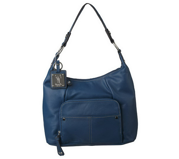 559ebe3fb3 Tignanello Glove Leather Hobo Bag with Front Pleating Detail. product  thumbnail. In Stock