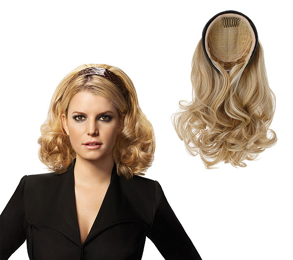 Hairdo By Ken Paves Jessica Simpson Headband 20 Wavy Extension