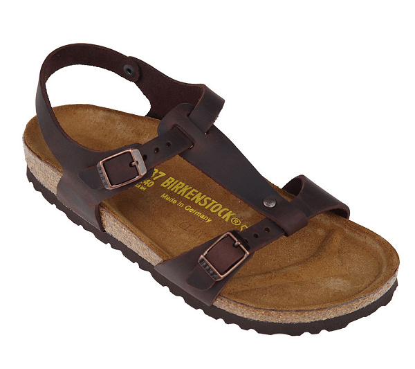 d03e5d10eda7 Birkenstock Oiled Leather T-Strap Sandals with Ankle Strap. product  thumbnail. In Stock