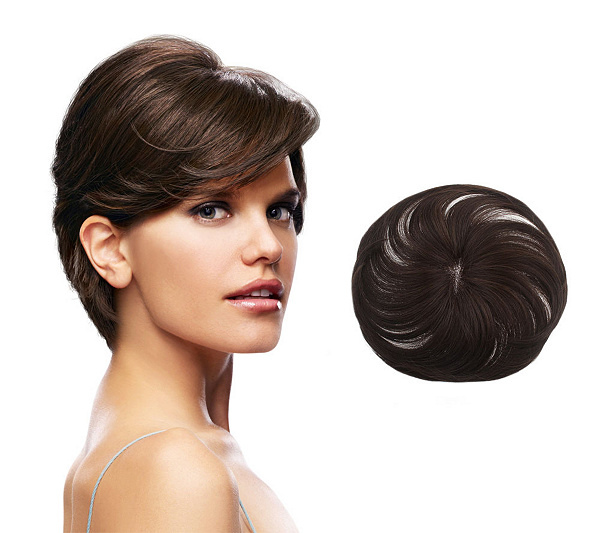 A Topper Is Also Referred To As Half Wig Or Top Piece Clip In Volumizer Hair Pieces Partial Wigs Crown Toppers Add Ons