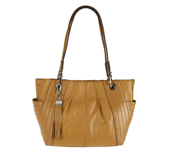 ed7d1b65d9 Tignanello Glove Leather Shopper Tote with Quilted Accents. Back to video