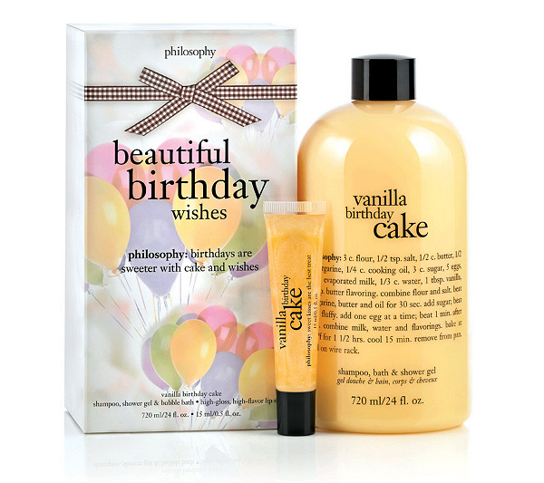 Philosophy The Perfect Present Gift Se 24oz Shower Gel Lip Shine Duo