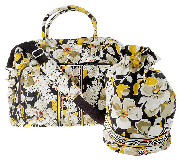 ee5d4b9d41a3 Vera Bradley Signature Print Weekender   Ditty Bag. Back to video. On-Air  Presentation