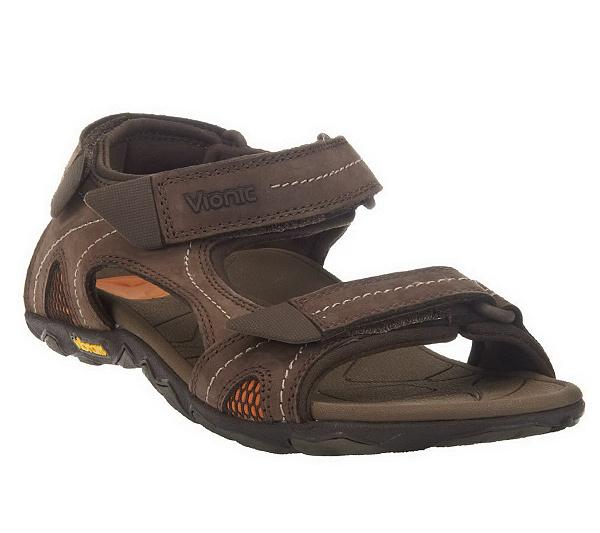 1d416146e16 Vionic w  Orthaheel Boyes Men s Orthotic Sandals - Page 1 — QVC.com