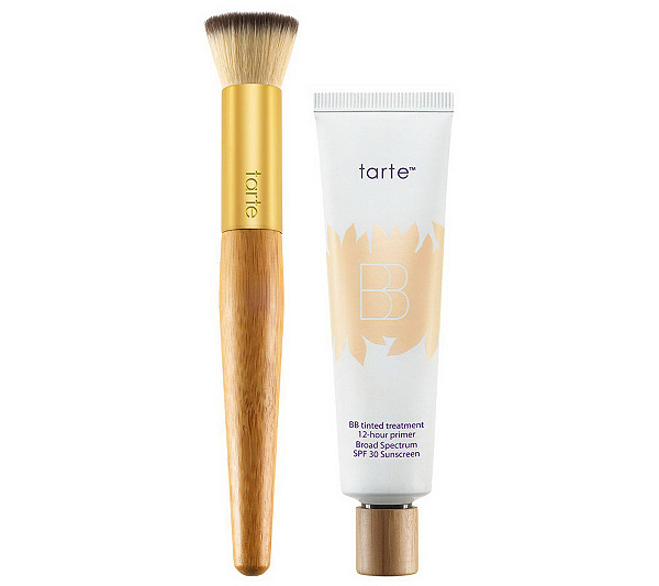 tarte Clean Slate SPF 30 Tinted BB Primer with Brush - Page 1 — QVC.com