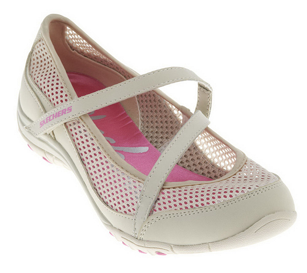 Skechers Mesh Slip-on Mary Jane Shoes - Page 1 — QVC.com 85b71daaf5cf