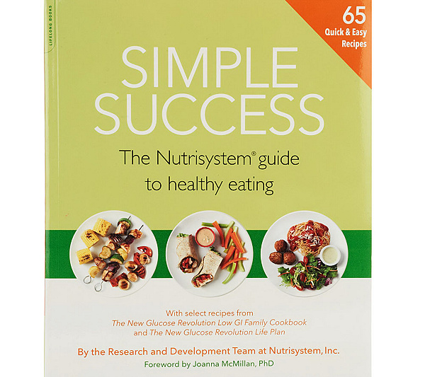 Nutrisystem simple success cookbook and healthy eating guide page nutrisystem simple success cookbook and healthy eating guide page 1 qvc forumfinder Image collections