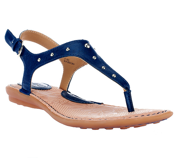 4cd4d467b1f8e B.O.C. by Born Candia T-Strap Thong Sandals w  Back Strap. Back to video