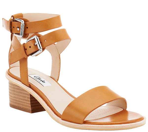 837c2a821586a Clarks Narrative Leather Low Heel Sandals - Berrick Rock - Page 1 ...
