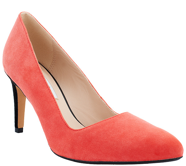 2260c10b4e5 Clarks Narrative Leather or Suede Pumps Dalhart Sorbet. product thumbnail.  In Stock
