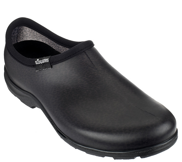 sloggers mens waterproof garden shoes w comfort insoles page 1 qvccom - Mens Garden Shoes