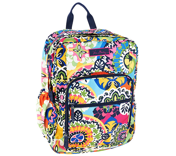 37408fcae7f7 Vera Bradley Signature Print Lighten Up Large Backpack. Back to video