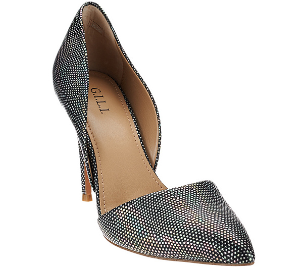 get authentic cheap price G.I.L.I. Leather Two-piece Pumps - Farrah latest with credit card for sale authentic cheap online Gzs0I