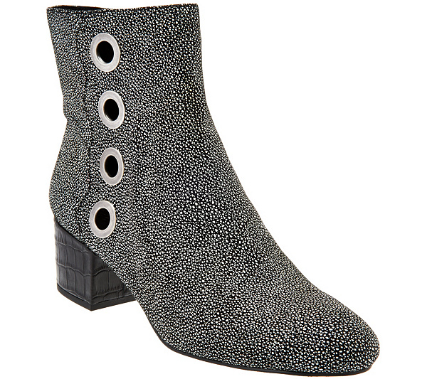 sale limited edition free shipping find great LOGO by Lori Goldstein Ankle Boots with Grommet Detail RmHr1gr3
