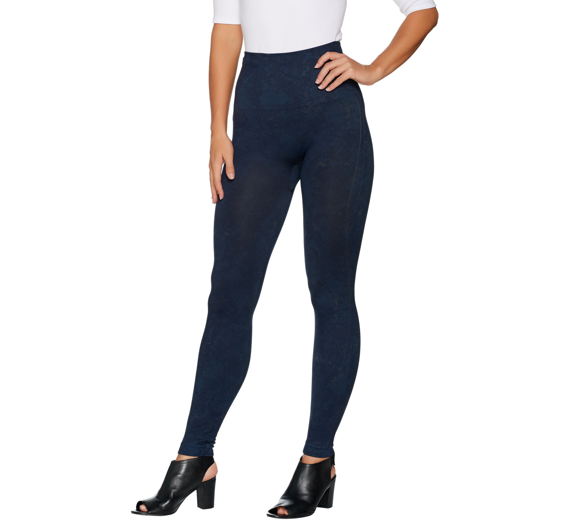 Look At Me Now Leggings in Blue. - size S (also in L,M) Spanx
