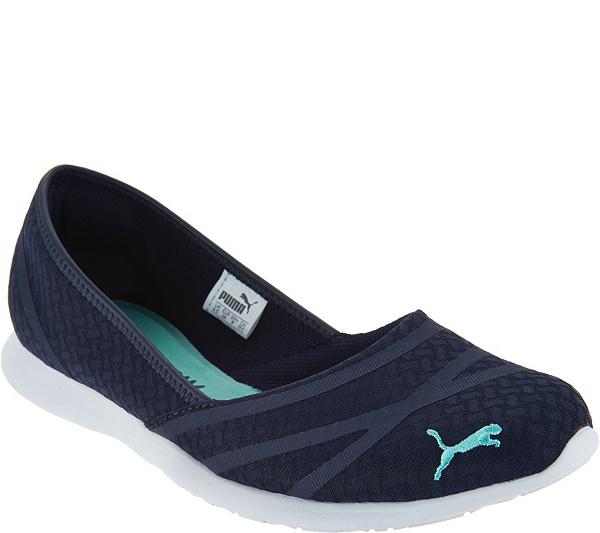 8ae30b189ffd PUMA Slip-On Mesh Sneakers - Vega Ballet Flume - Page 1 — QVC ...