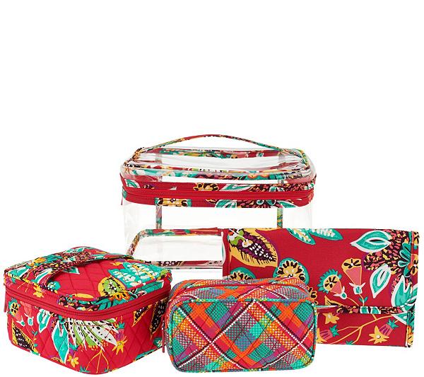 Vera Bradley Signature Print Travel Cosmetic Kit. product thumbnail. In  Stock b9864e3a3b5cf