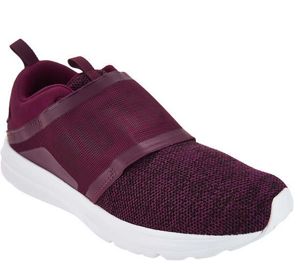 07061c5693d9 PUMA Knit Lace-up Sneakers - Enzo Strap Knit - Page 1 — QVC.com
