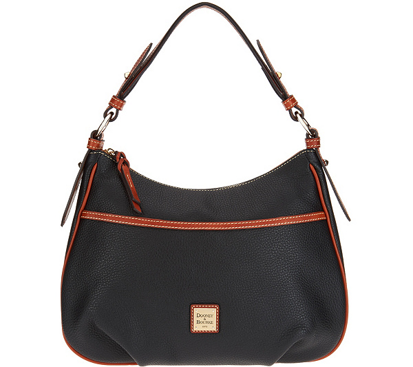 400c96c507737 Dooney   Bourke Pebble Leather East West Collins Shoulder Bag ...