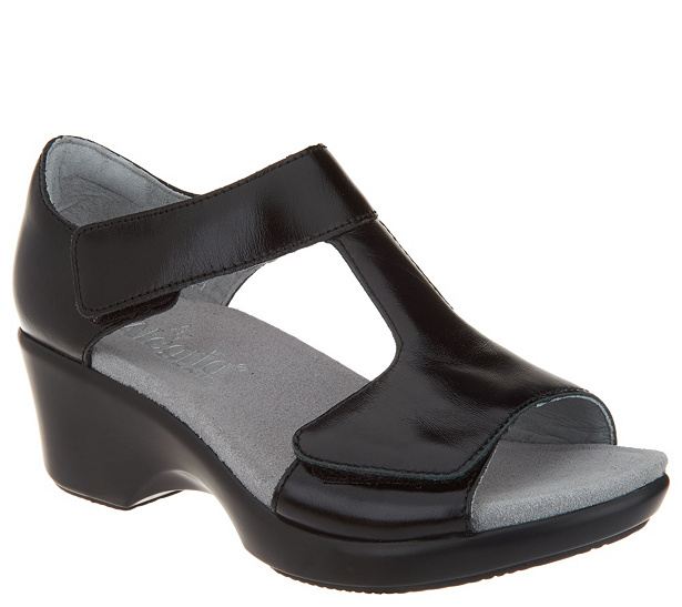 buy cheap Cheapest buy cheap comfortable Alegria Leather Sandals w/ Adjustable Straps - Riki sale low shipping 3KD1ZB1o