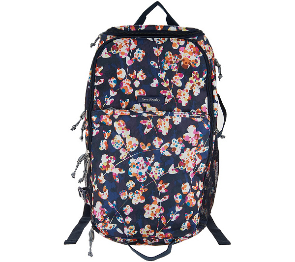Vera Bradley Journey Lighten Up Travel Backpack - Page 1 — QVC.com 3fb2622f2e25f