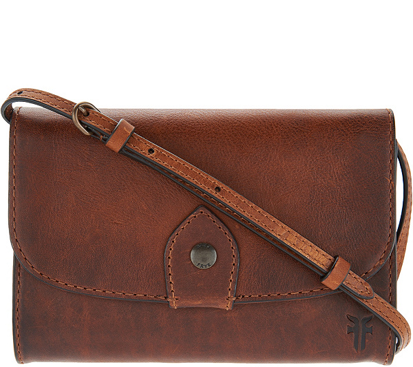 Frye Leather Melissa Wallet Crossbody Bag Back To Video