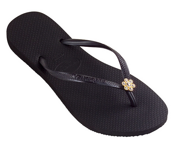 9c3976bac95f Havaianas Slim Crystal Flower Casual Flip Flops. product thumbnail. In Stock