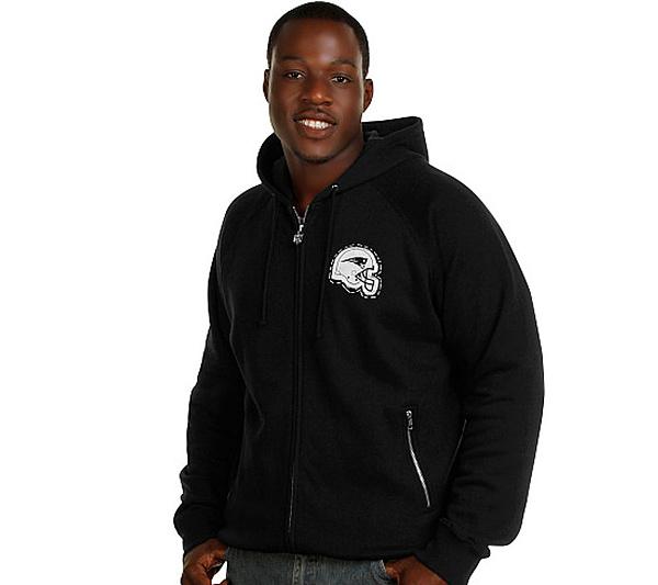 best service a8fe7 169f1 NFL New England Patriots Men's Big & Tall Hooded Sweatshirt — QVC.com