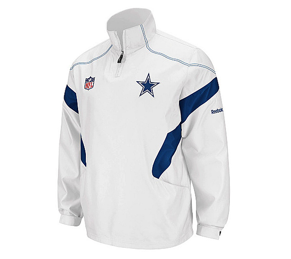 NFL Dallas Cowboys Sideline Hot White Jacket. product thumbnail. In Stock 9ac0a94f6
