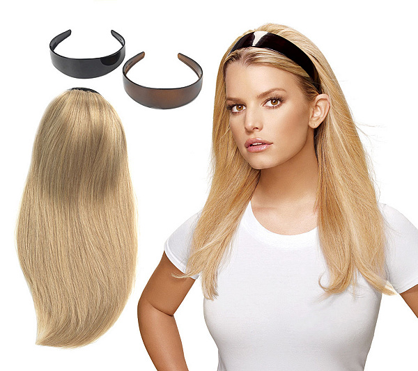 Hairdo 21 Headband With Attached Extension Qvc