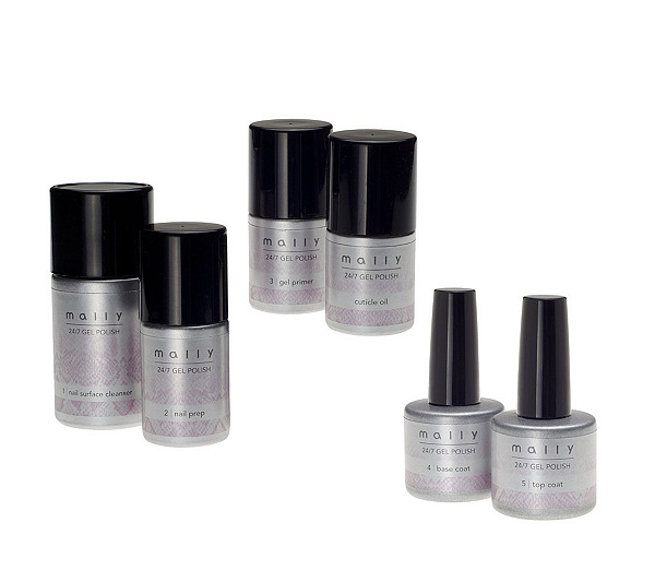 Mally 24/7 Gel Polish Formula Kit - Page 1 — QVC.com
