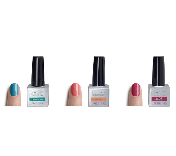 Mally 24/7 Resort Gel Polish Trio - Page 1 — QVC.com